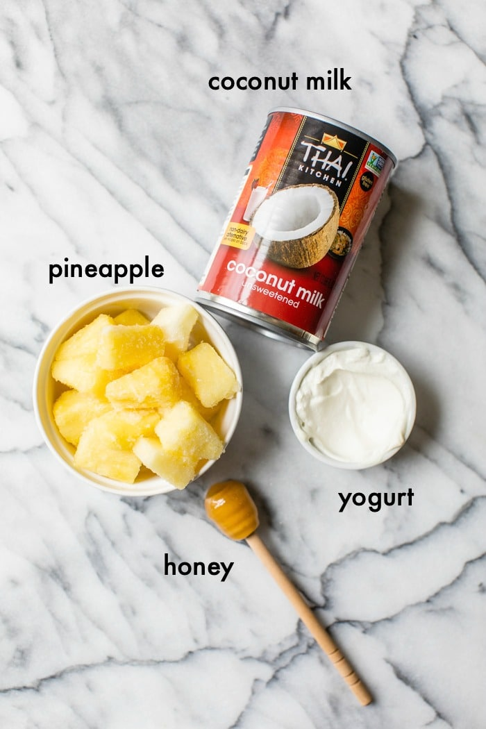 ingredients on a marble table