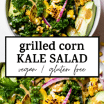 salad with text overlay