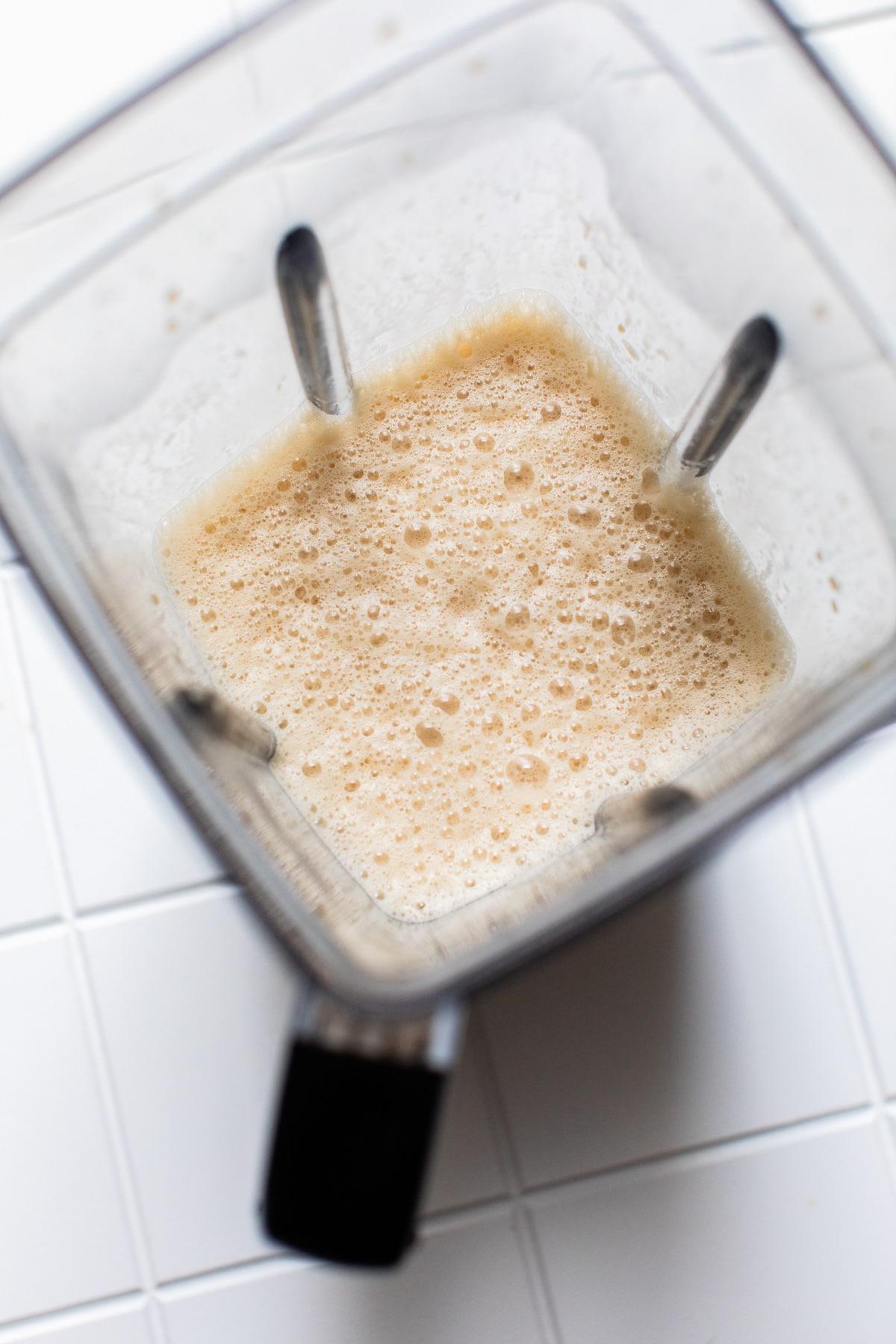 Bulletproof Coffee in a blender