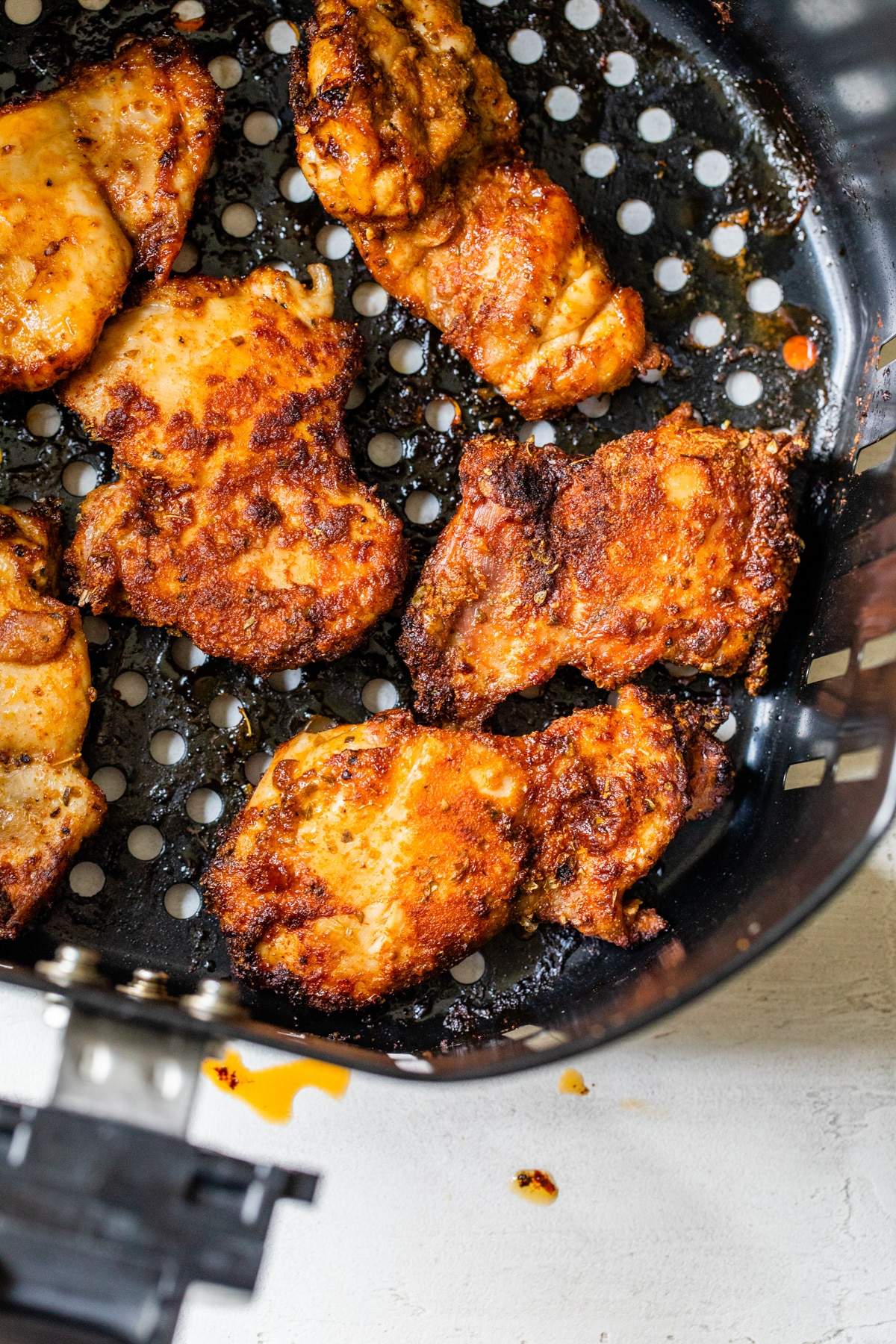 Air Fryer Chicken Thighs The Almond Eater