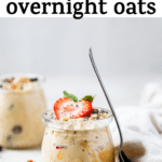 jar of oats with text overlay