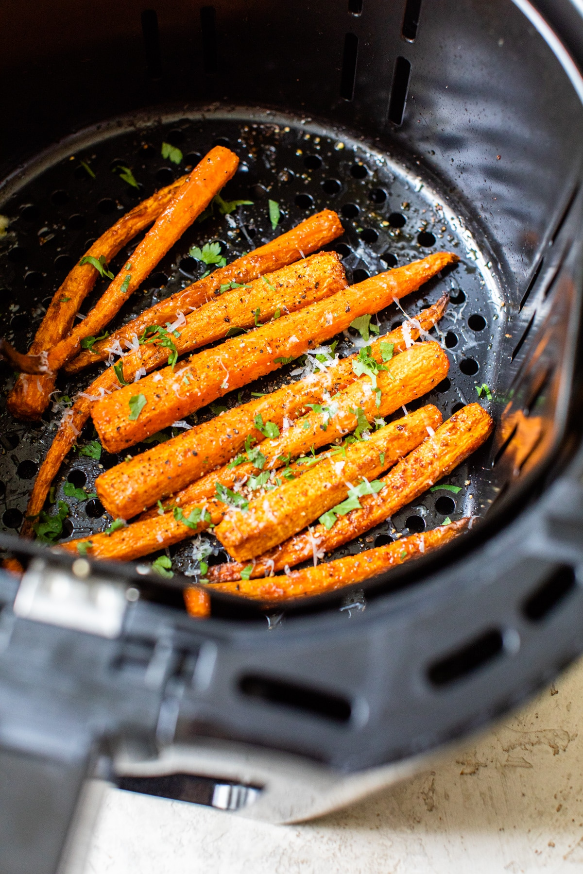carrots in an air fryer