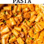 pasta in a dutch oven