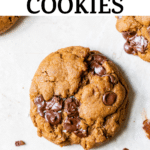 cookie with chocolate chips