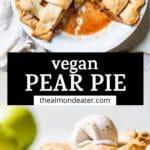 pie in a pie pan