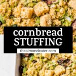 stuffing with text overlay