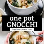 gnocchi with text overlay