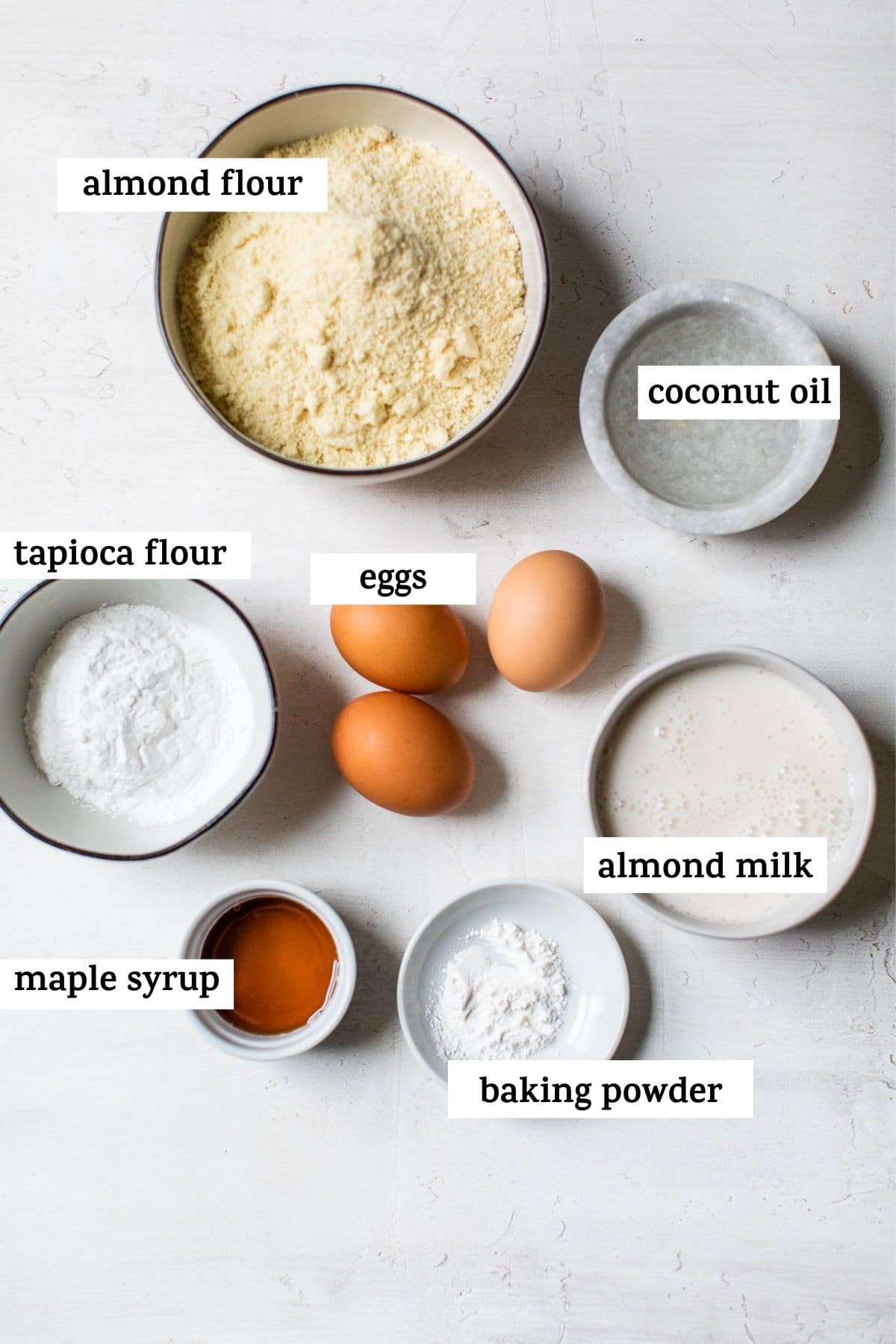 ingredients with text over top