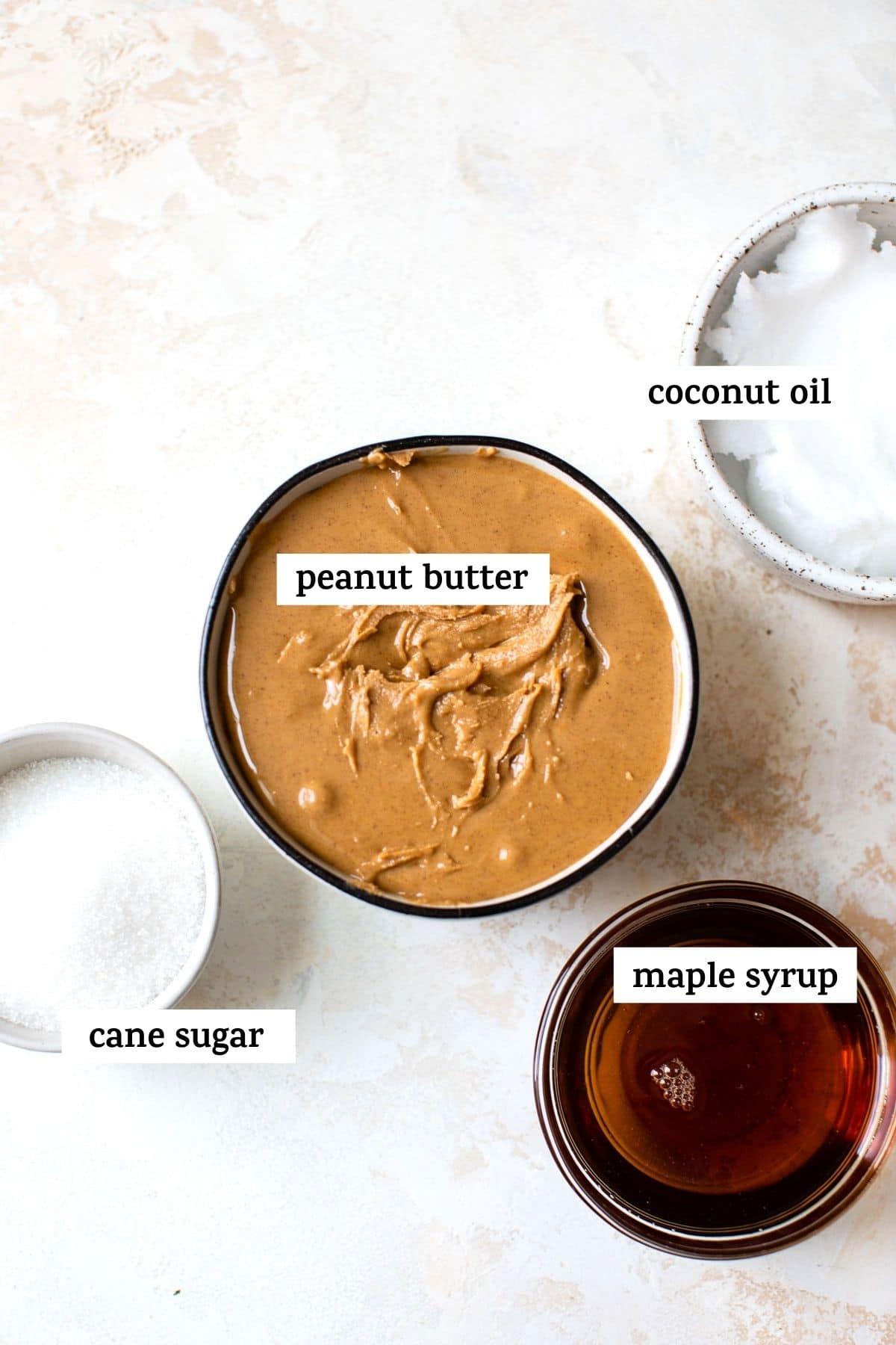 fudge ingredients with text over top