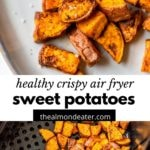 diced sweet potatoes on a plate