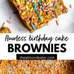 brownies with sprinkles